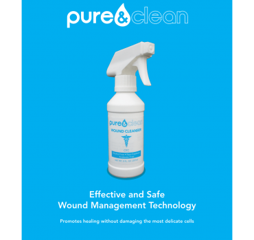 Wound Cleanser (8oz spray bottle) 100 ppm HOCL